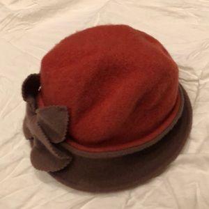 Vintage Wool Choche hat